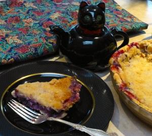 Grape pie and Porthos teapot